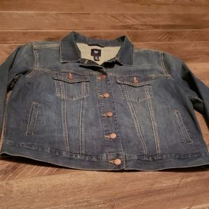 Womens classic Gap jean jacket